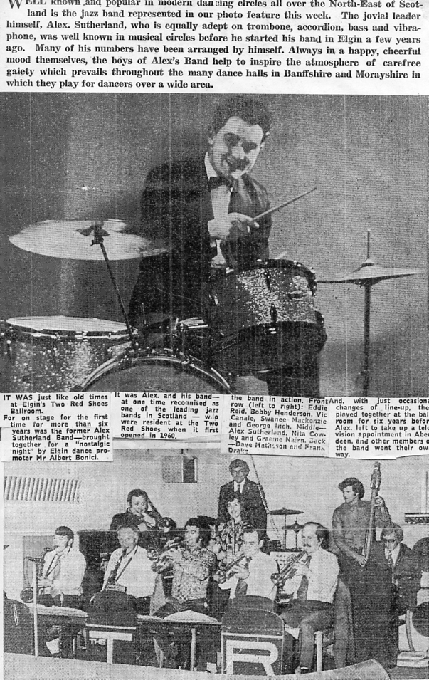 Alex Sutherland band