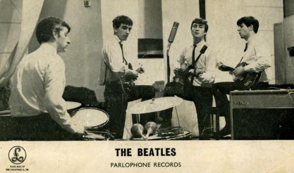 beatles 1962 parlament recording