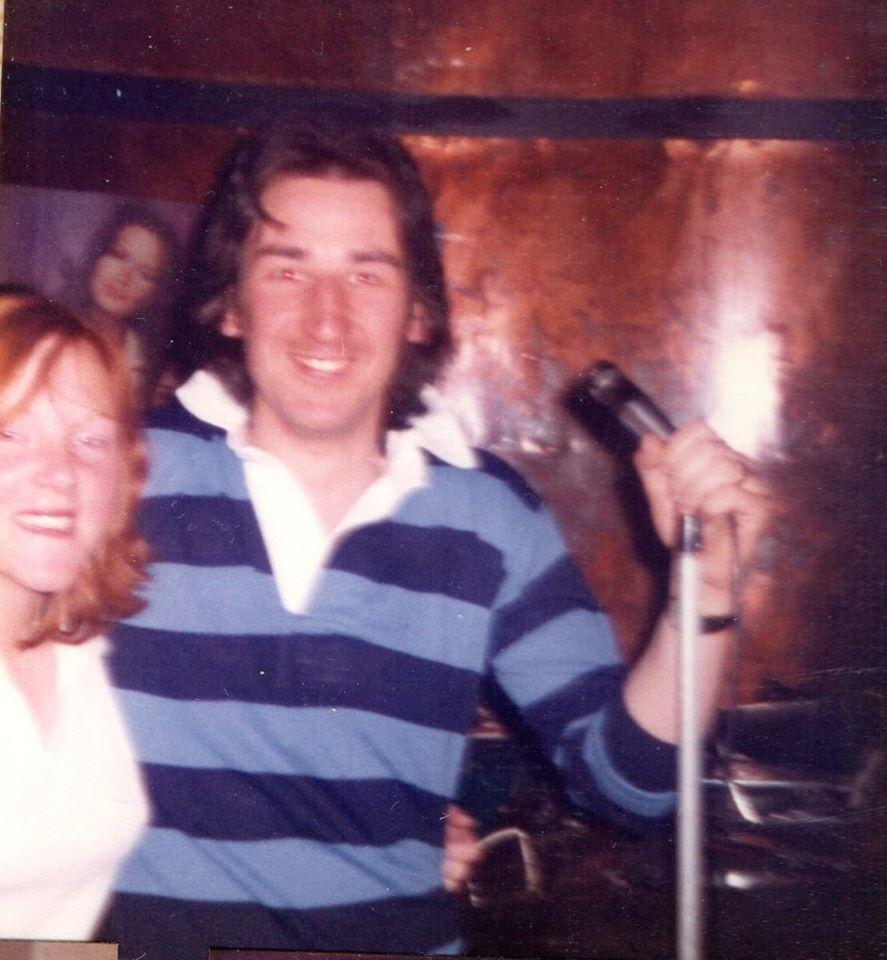 Albert Bonici's nephew, John Ruggeri, hosting disco from the