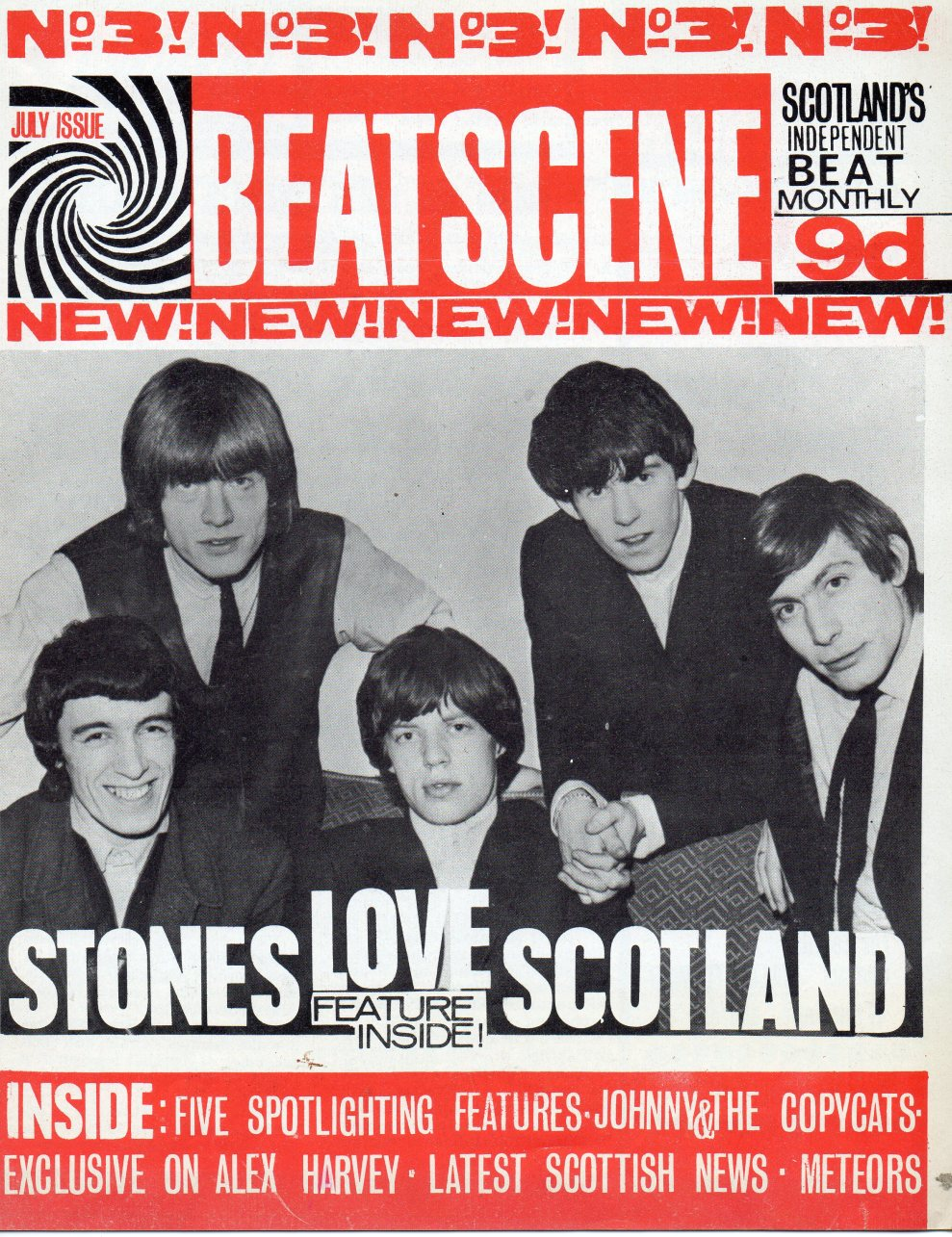 Local BEAT magazines began popping up around Scotland in early 1960s