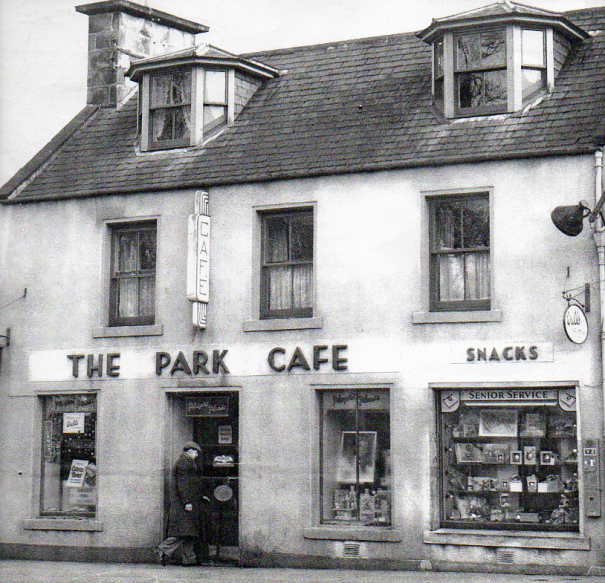 The Park Café was an Bonici family restaurant in 1952 onwards