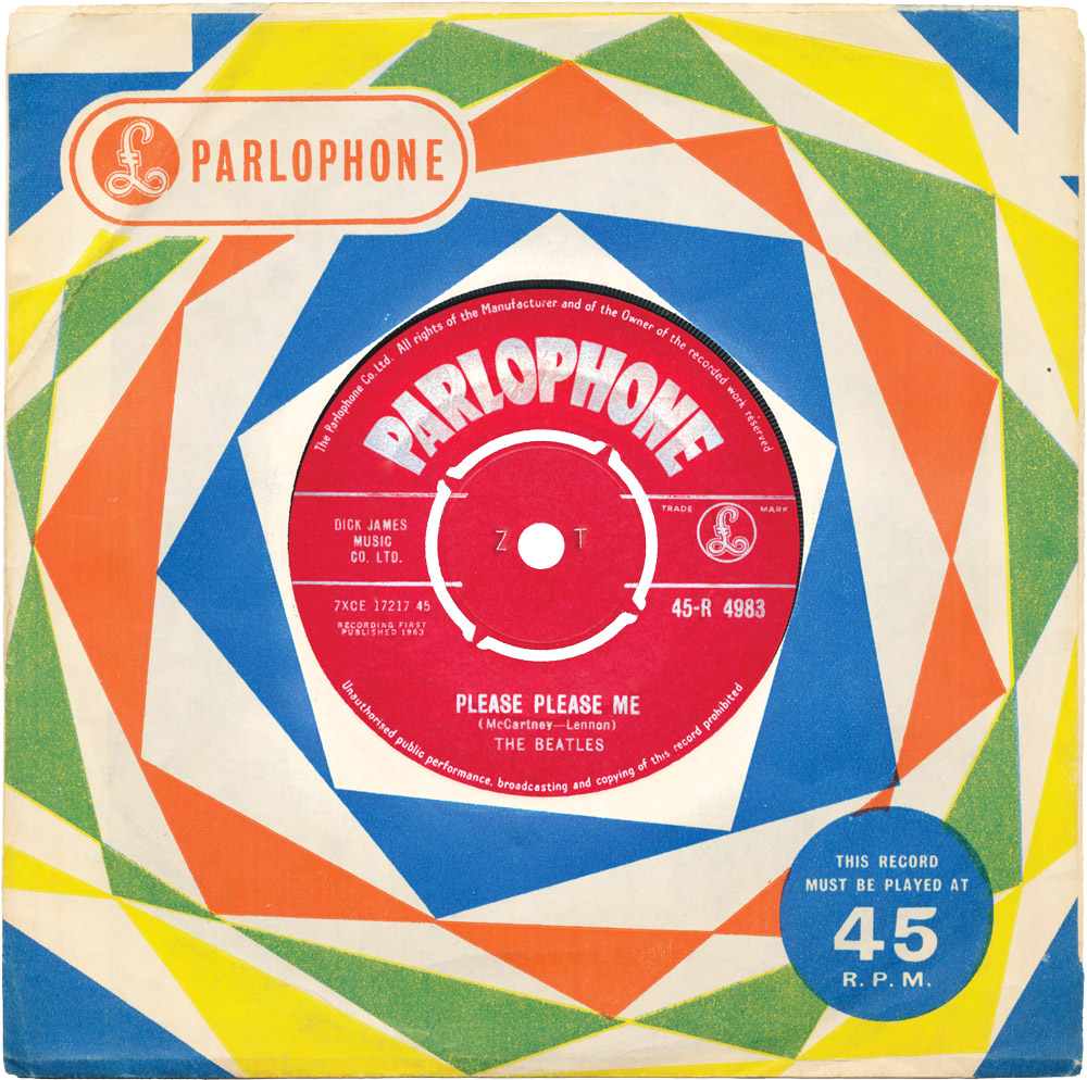 On January 8th, 1963 after short tour in the north of Scotland, the Beatles lip-synced their soon-to-be-released single, Please Please Me, for the children's television program Roundup at STV studios in Glasgow.