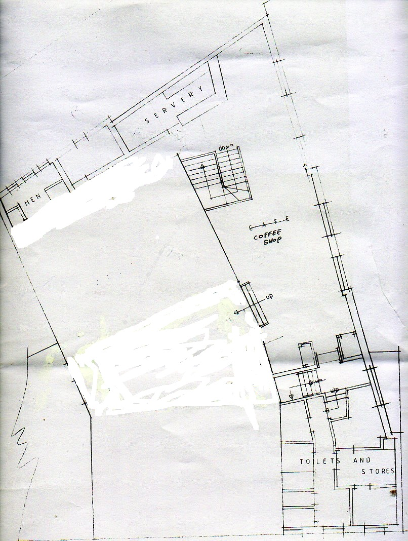 two red shoes ballroom plans - 1:2500 scale
