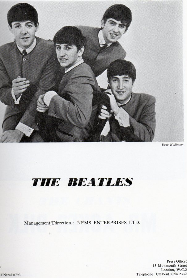 The Beatles 1963 advert
