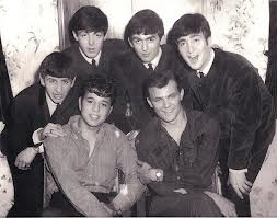 Tommy Roe with the Beatles [circa March/1963]