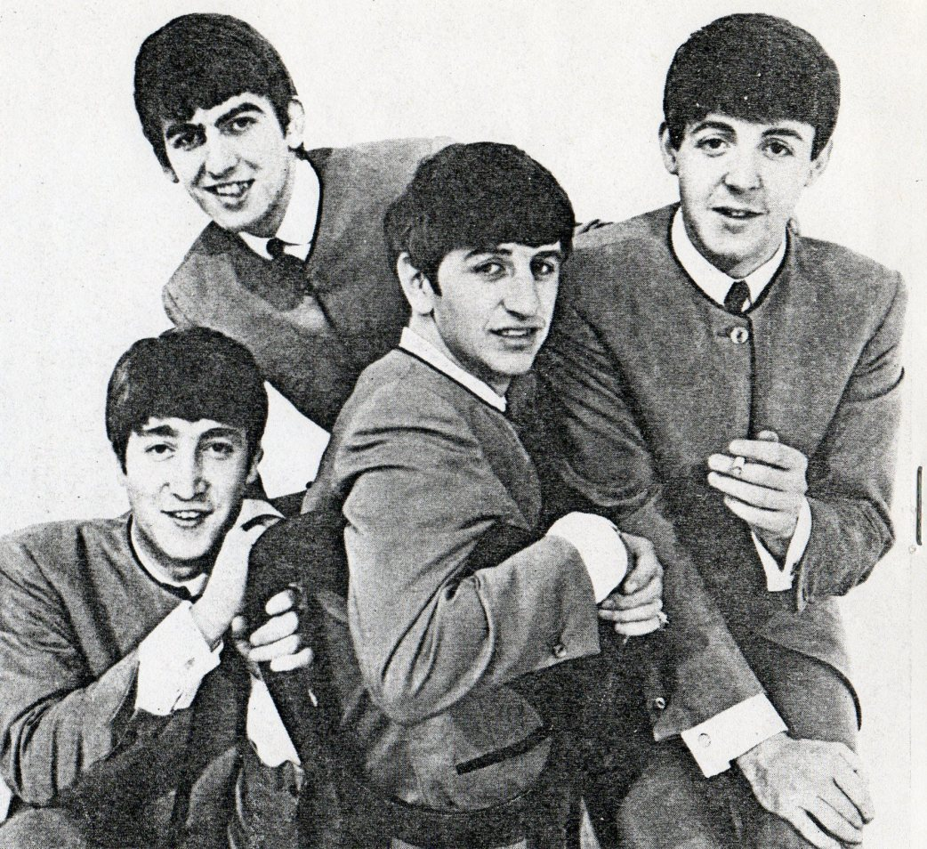 "promotion photo from 1962 was seen by promoter Albert Bonici and booked them in November and promoted the show as ""Love Me Do Boys"" when their first song climbed the charts on Luxembourg radio"