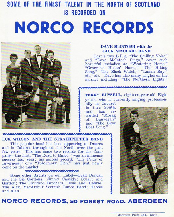 Norco Records [Albert Bonici] under LCB Agency