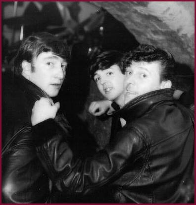 The Beatles backed Gene Vincent at the Cavern Club in June 1962 before Ringo became their drummer.