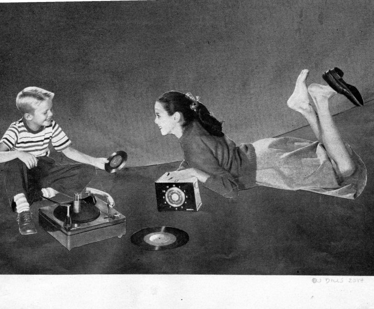 Records and radio broadcasts were a way for kids of the 1960's to experience new sounds in music.
