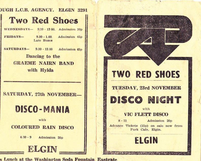 Two Red Shoes flyers