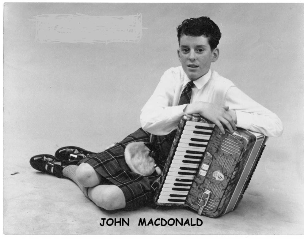 John MacDonald - Three's Company, Grampian television [Aberdeen] 1963