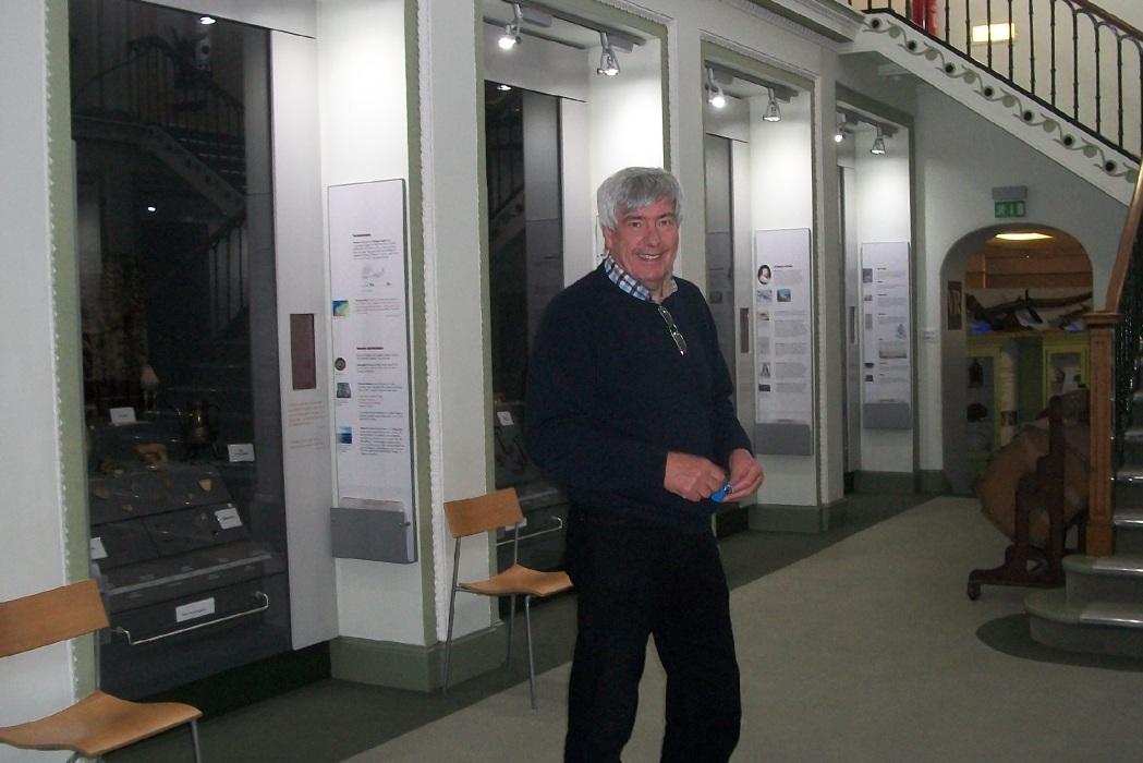 Bill Dalgarno currently serves at Elgin Museum