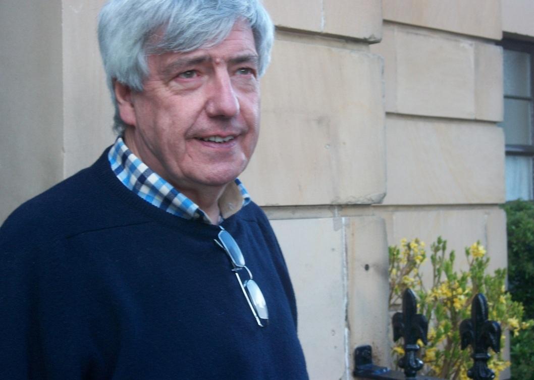 Bill Dalgarno at April 2015 Elgin Museum
