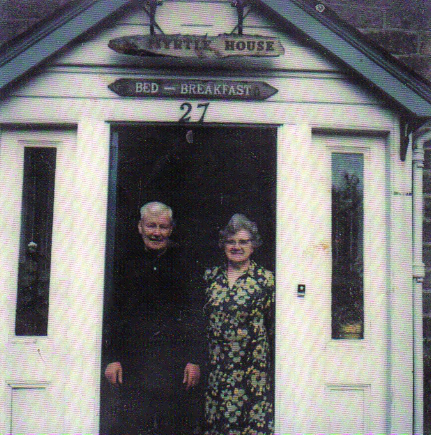 B&B run by the McBean's on Lossiewynd near Two Red Shoes. They would house musicians through contract with Albert Bonici