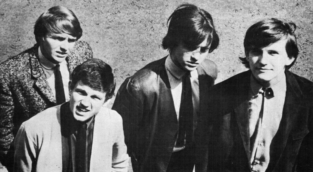 Wayne Fontana and the Mindbenders circa 1965