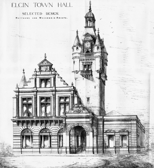 elgin town hall 1883